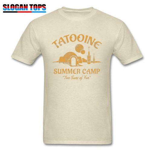 Star Wars T Shirt For Men Summer T shirt Two Suns of Fun Darth Vader Tshirt 3