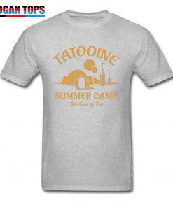 Star Wars T Shirt For Men Summer T shirt Two Suns of Fun Darth Vader Tshirt 4