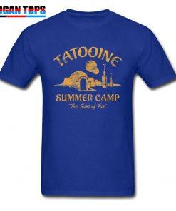 Star Wars T Shirt For Men Summer T shirt Two Suns of Fun Darth Vader Tshirt 5