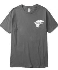Stark 100 cotton short sleeve Game of Thrones Men T shirt casual men tshirt Tops Tees 1