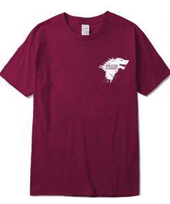 Stark 100 cotton short sleeve Game of Thrones Men T shirt casual men tshirt Tops Tees 2