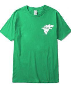 Stark 100 cotton short sleeve Game of Thrones Men T shirt casual men tshirt Tops Tees 3