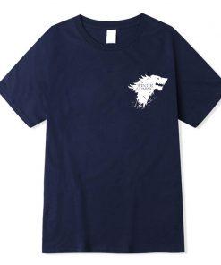 Stark 100 cotton short sleeve Game of Thrones Men T shirt casual men tshirt Tops Tees 4