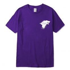 Stark 100 cotton short sleeve Game of Thrones Men T shirt casual men tshirt Tops Tees 5
