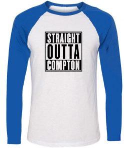 Straight Outta Kauffman KC Royals Bad Boys Kansas City Design T Shirt Men Cosplay Family Graphic 1