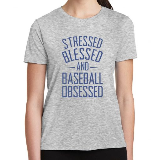 Stressed Blessed and Obsessed T Shirt Yankees Fans New York Baseball 2105
