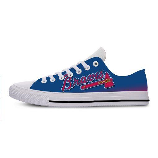 Summer 2019 Sport Shoes Men Sneaker Women Comfortable Unisex Atlanta Braves Shoes Casual Sneakers 1