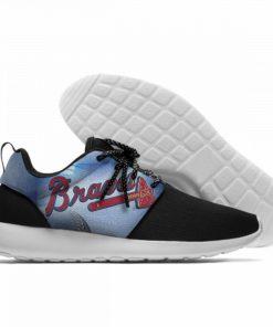 Summer 2019 Sport Shoes Men Sneaker Women Comfortable Unisex Atlanta Braves Shoes Casual Sneakers 17