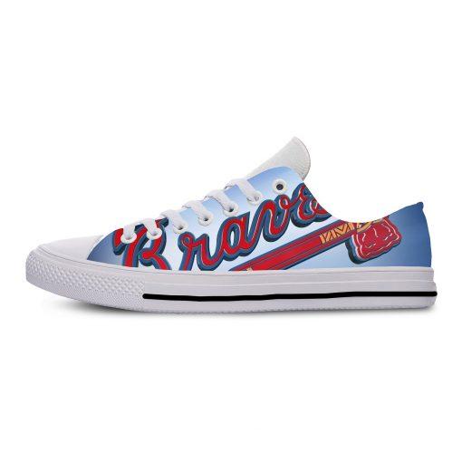 Summer 2019 Sport Shoes Men Sneaker Women Comfortable Unisex Atlanta Braves Shoes Casual Sneakers 3