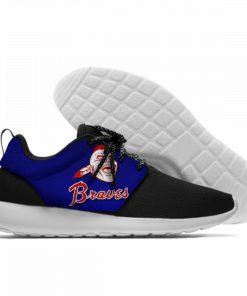 Summer 2019 Sport Shoes Men Sneaker Women Comfortable Unisex Atlanta Braves Shoes Casual Sneakers 6