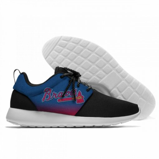 Summer 2019 Sport Shoes Men Sneaker Women Comfortable Unisex Atlanta Braves Shoes Casual Sneakers 7
