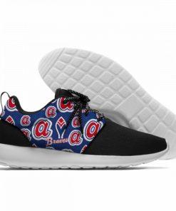 Summer 2019 Sport Shoes Men Sneaker Women Comfortable Unisex Atlanta Braves Shoes Casual Sneakers 8