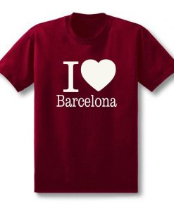 Summer Love Barcelona Creative Men s T Shirt T Shirt Men 2019 New Short Sleeve O 1