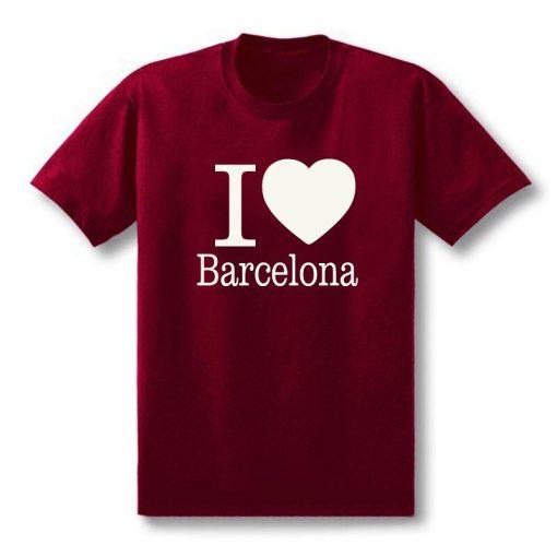 Summer Love Barcelona Creative Men s T Shirt T Shirt Men 2019 New Short Sleeve O 1
