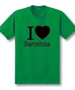 Summer Love Barcelona Creative Men s T Shirt T Shirt Men 2019 New Short Sleeve O 2