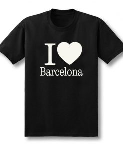 Summer Love Barcelona Creative Men s T Shirt T Shirt Men 2019 New Short Sleeve O