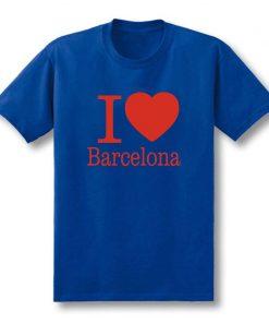 Summer Love Barcelona Creative Men s T Shirt T Shirt Men 2019 New Short Sleeve O 5
