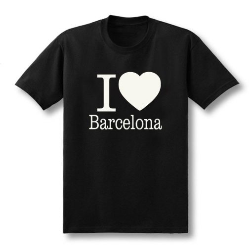 Summer Love Barcelona Creative Men s T Shirt T Shirt Men 2019 New Short Sleeve O