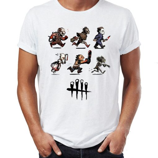 Summer Men s T shirt Maniac Jason Friday The 13th Saw Awesome Artwork Printed Tshirt Cool 1