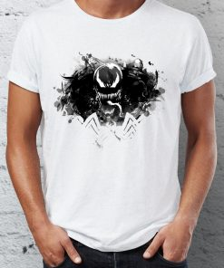 Summer Men s T shirt Symbiote Venom Spiderman Comic Villain Badass Tshirt Anime Cool Youth Tees