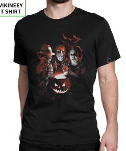 Super Villains Friday T Shirts The 13th Horror T Shirt Jason Voorhees Michael Myers T Shirt 12