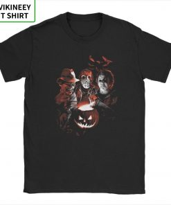 Super Villains Friday T Shirts The 13th Horror T Shirt Jason Voorhees Michael Myers T Shirt 13