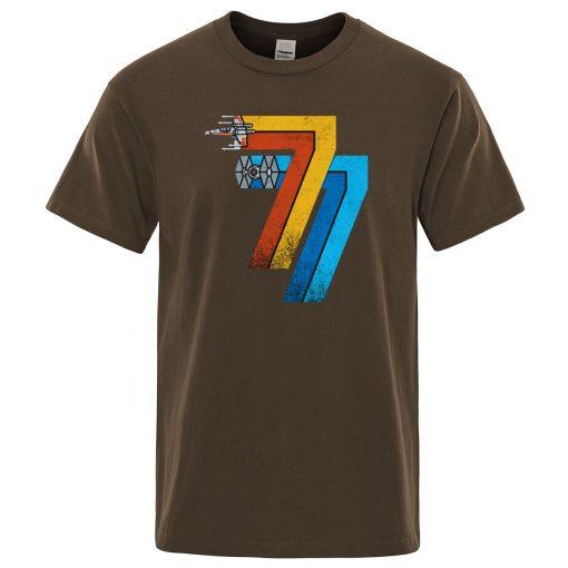 T shirts men Star Wars T shirt Harajuku Tops Fashion Classic Unique Retro brand Tshirt Vintage 1