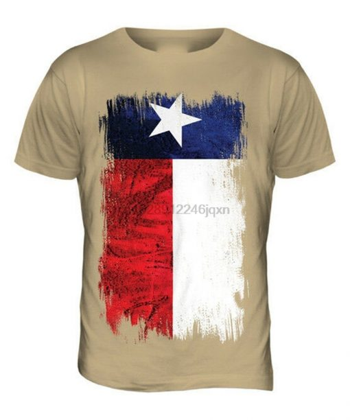 TEXAS STATE GRUNGE FLAG MENS T SHIRT TEE TOP TEXAN SHIRT JERSEY GIFT More Size And