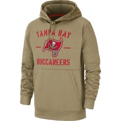 Tampa Bay American football Sweatshirt Buccaneers 12 Tom Salute to Service Sideline Therma Performance Pullover Brady 1