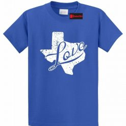 Texas Love T Shirt Texas Shape Home State Pride Tee Shirt Texan USA Tee