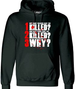 The 3 Questions Hoodie Inspired by Walking Dead TV Zombie Walkers Rick Grimes men long sleeve
