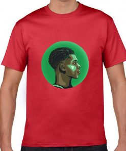 The Alphab Giannis Antetokounmpo Cartoon Basketball Fans Wear Mens Classic T shirt Normal Basketball Sweatshirts Tee 6