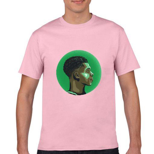 The Alphab Giannis Antetokounmpo Cartoon Basketball Fans Wear Mens Classic T shirt Normal Basketball Sweatshirts Tee 7