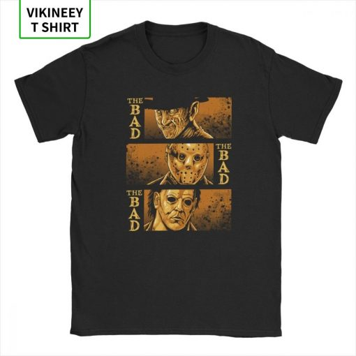 The Bad Friday The 13th Michael Myers Texas Chainsaw Massacre Horror T Shirt Man s Big 1