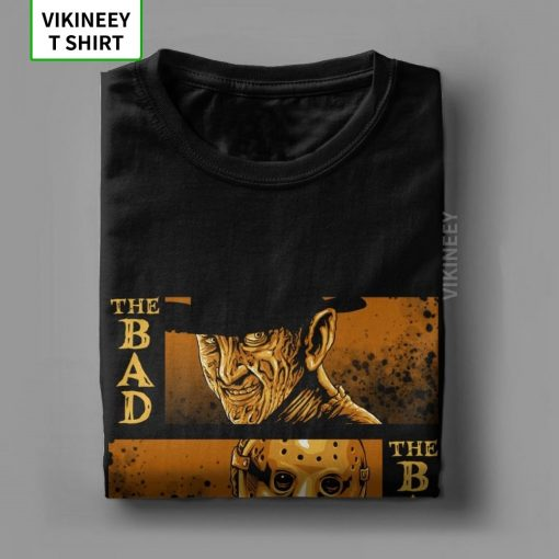 The Bad Friday The 13th Michael Myers Texas Chainsaw Massacre Horror T Shirt Man s Big 2
