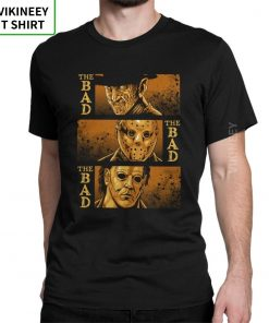 The Bad Friday The 13th Michael Myers Texas Chainsaw Massacre Horror T Shirt Man s Big