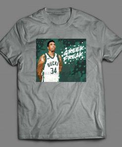 The Greek Freak Giannis Antetokounmpo Oldskool Custom Art T Shirt Options