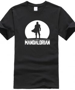 The Mandalorian Men T Shirts Hip Hop Star Wars Tops Summer New 2020 Casual High Quality 1