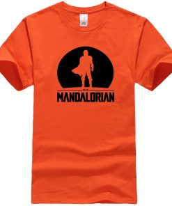The Mandalorian Men T Shirts Hip Hop Star Wars Tops Summer New 2020 Casual High Quality 2