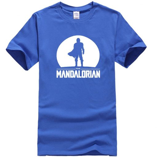 The Mandalorian Men T Shirts Hip Hop Star Wars Tops Summer New 2020 Casual High Quality