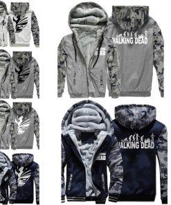 The Walking Dead Cool Men Hoodies 2018 New Arrival Autumn Winter Warm Fleece High Quality Sweatshirt 1