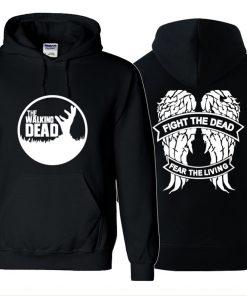 The Walking Dead Cosplay Hoodies Sweatshirts Women Men zipper Hoodies Long Sleeve Outerwear