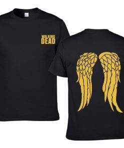 The Walking Dead Cotton Men T Shirts Hip Hop Fashion cool T Shirts Men Loose creative