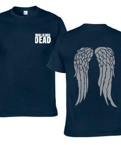 The Walking Dead Cotton Men T Shirts Hip Hop Fashion cool T Shirts Men Loose creative 3