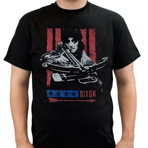 The Walking Dead Daryl Stripes Adult T Shirt T Shirt Sweatshirt Hoodies