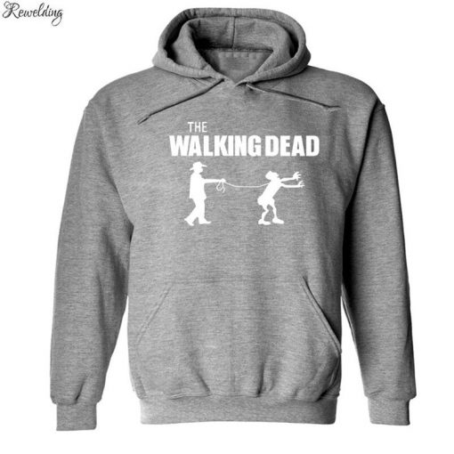 The Walking Dead Funny Hoodies Men Women Hip Hop Fleece Long Sleeve Sweatshirt Pullover Fashion Skateboard 2