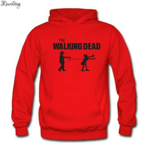 The Walking Dead Funny Hoodies Men Women Hip Hop Fleece Long Sleeve Sweatshirt Pullover Fashion Skateboard 4
