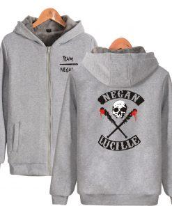 The Walking Dead Hoodie Negan Hoodies Skull Lucille Hoody Hot Tv Print Sweatshirts Men Women Hooded 1
