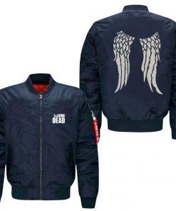 The Walking Dead Hoodie Zombie Daryl Dixon Wings spring autumn men s jacket collar code Air 2