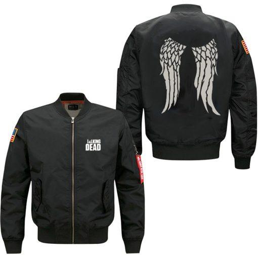The Walking Dead Hoodie Zombie Daryl Dixon Wings spring autumn men s jacket collar code Air
